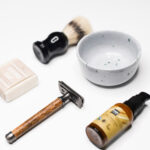 Skutimosi rinkinys Complete Shaving Set (wooden)