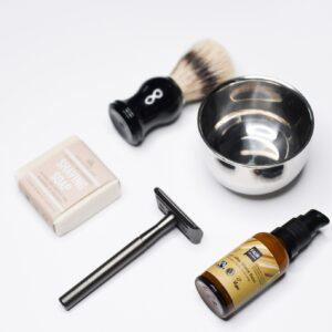 Skutimosi rinkinys Complete Shaving Set Metal